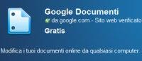 Google Drive Offline per aprire documenti senza internet