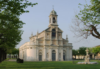 The Sanctuary of Madonna dei Campi at Stezzano