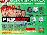 PES 2017 Miniface Gameplan V3 dari Rizki23 & Slimshady24