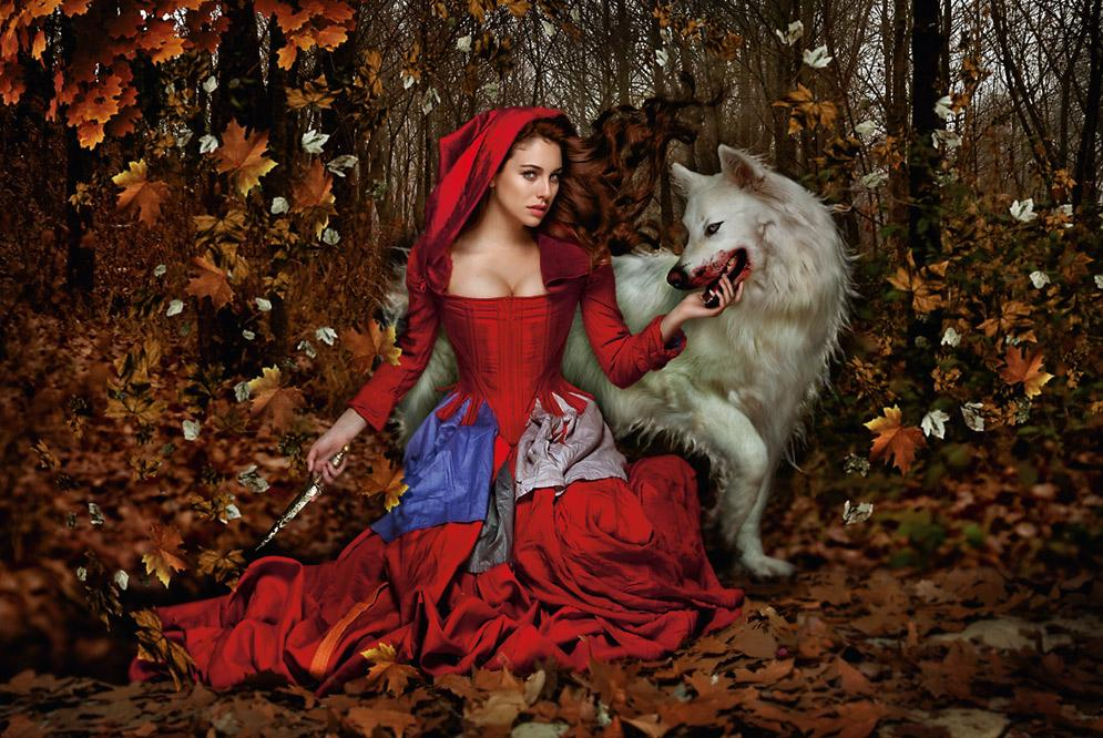 Verdeesperanza: _--Cuentos Tradicionales: Caperucita Roja
