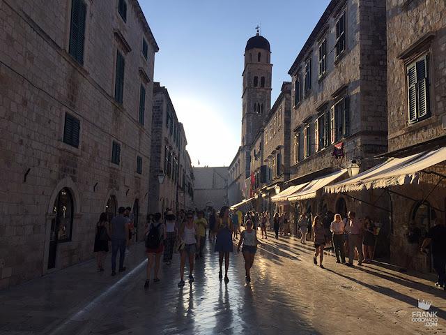 calle en dubrovnik croacia