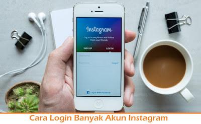 Cara Login Banyak Akun Instagram (Termudah.com)