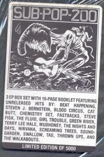 autocollant grunge seattle cover picture vinyle album compil image pochette