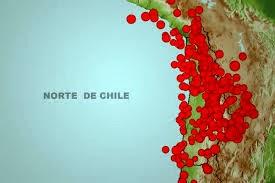 CONTINUAN LOS SISMOS DE MEDIANA INTENSIDAD EN EL NORTE DE CHILE, 8 DE ENERO 2014