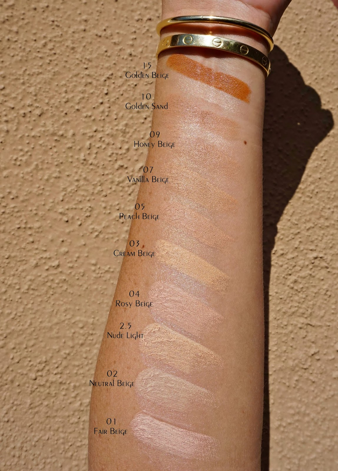 By Terry Nude-Expert Duo Stick swatches