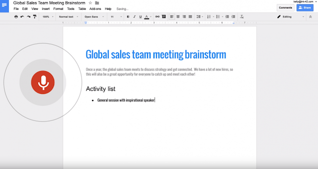 Google Docs Now Converts Your Voice Instructions Into Actions