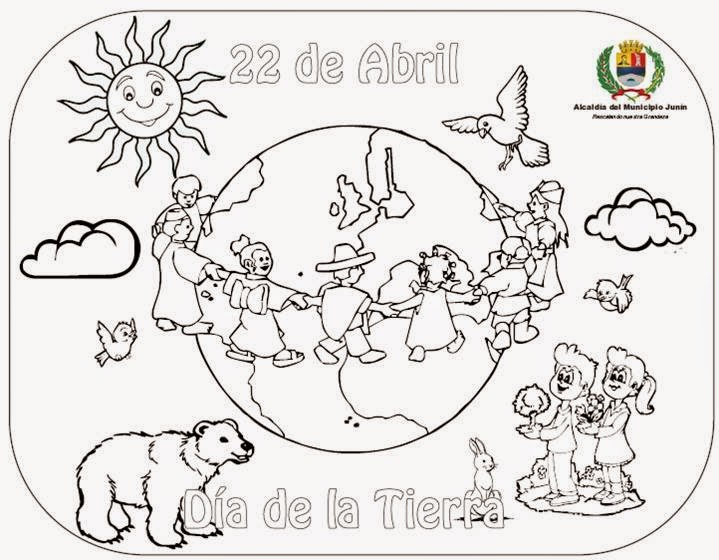 best Imagenes Para Colorear Del Dia De La Madre Tierra image collection