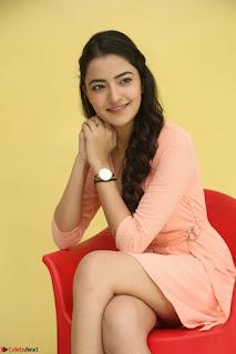 Rukshar Mir in a Peachy Deep Neck Short Dress 084.JPG