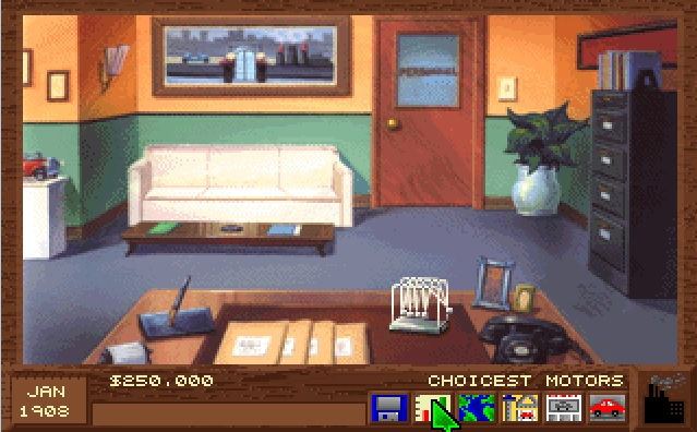 Screenshot of computer game Detroit - Administration