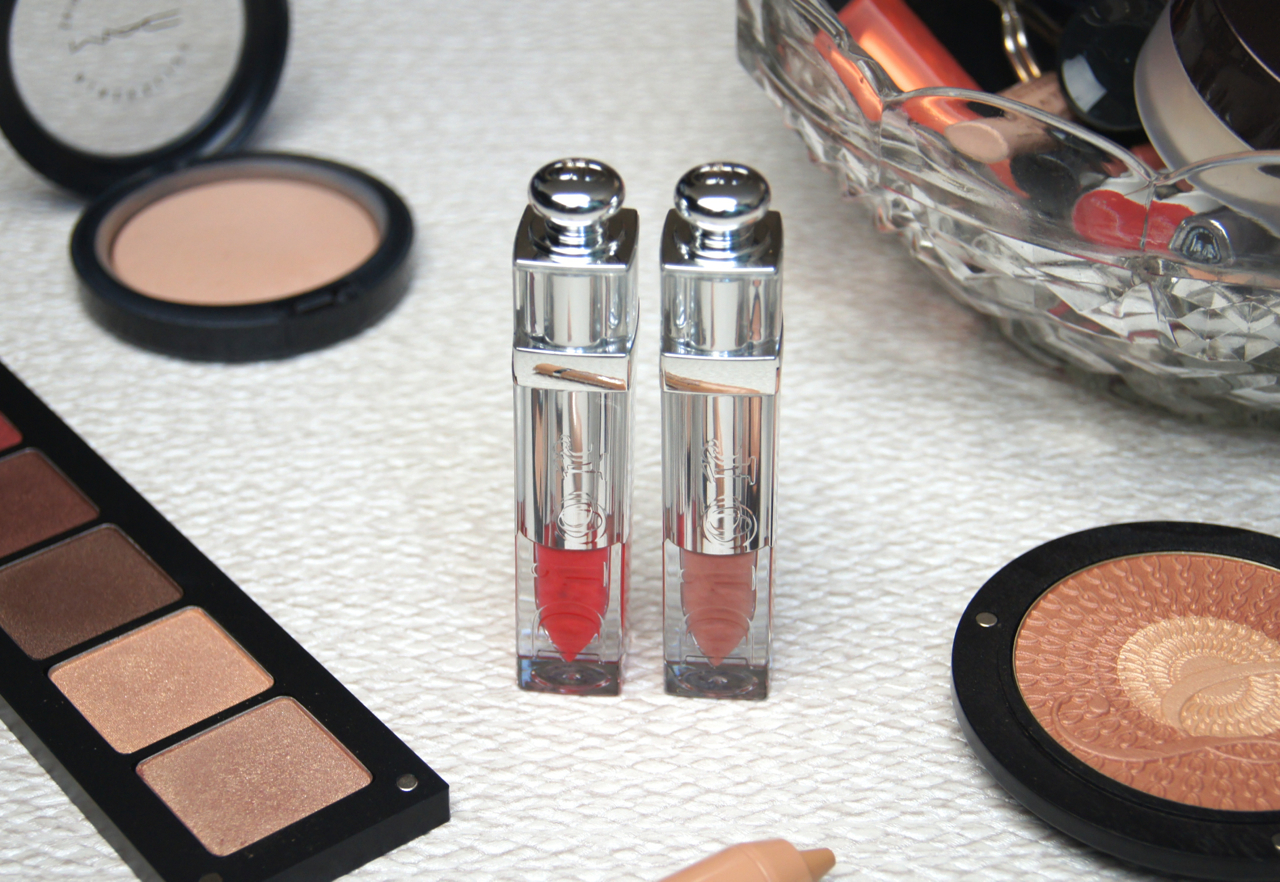dior addict fluid stick review swatches