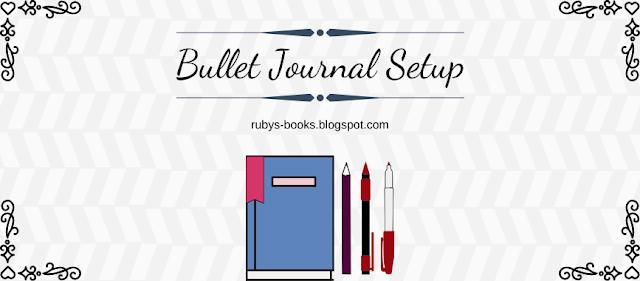 Bullet Journal Setup Ruby's Books