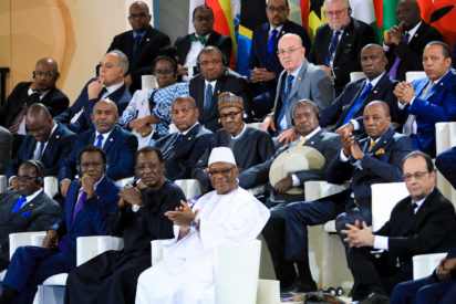 Buhari urges France to assist Africa in development of education, power, agric, others