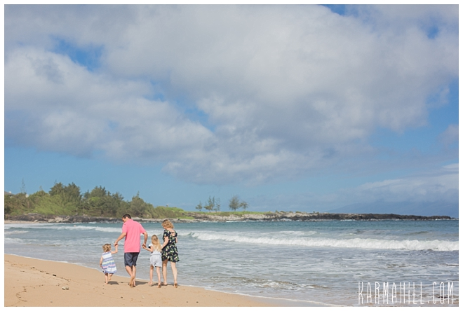 Maui Beach Family Portrait