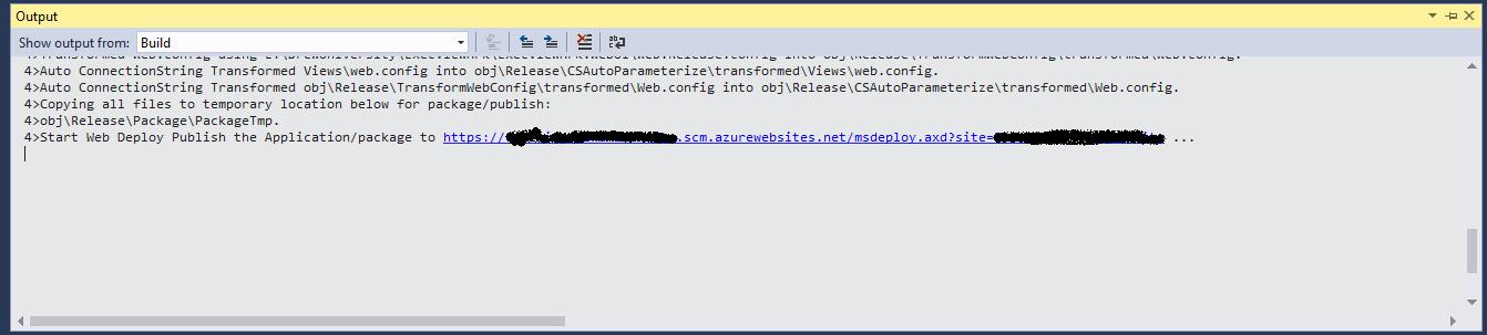 Publish WebApp using Visual Studio 2017 in Microsoft Azure