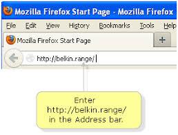how to change networks on belkin range extender