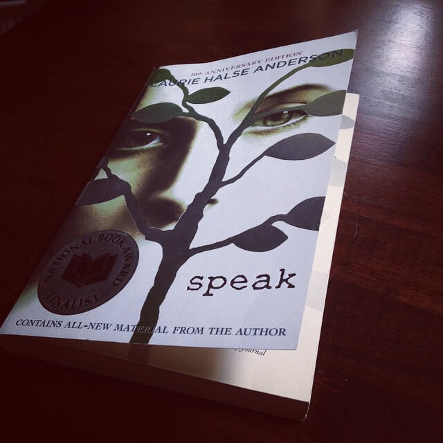 speak by laurie halse anderson For my last independent reading project for mrs dunn i read speak by laurie halse anderson this book was first published in 1999 laurie.