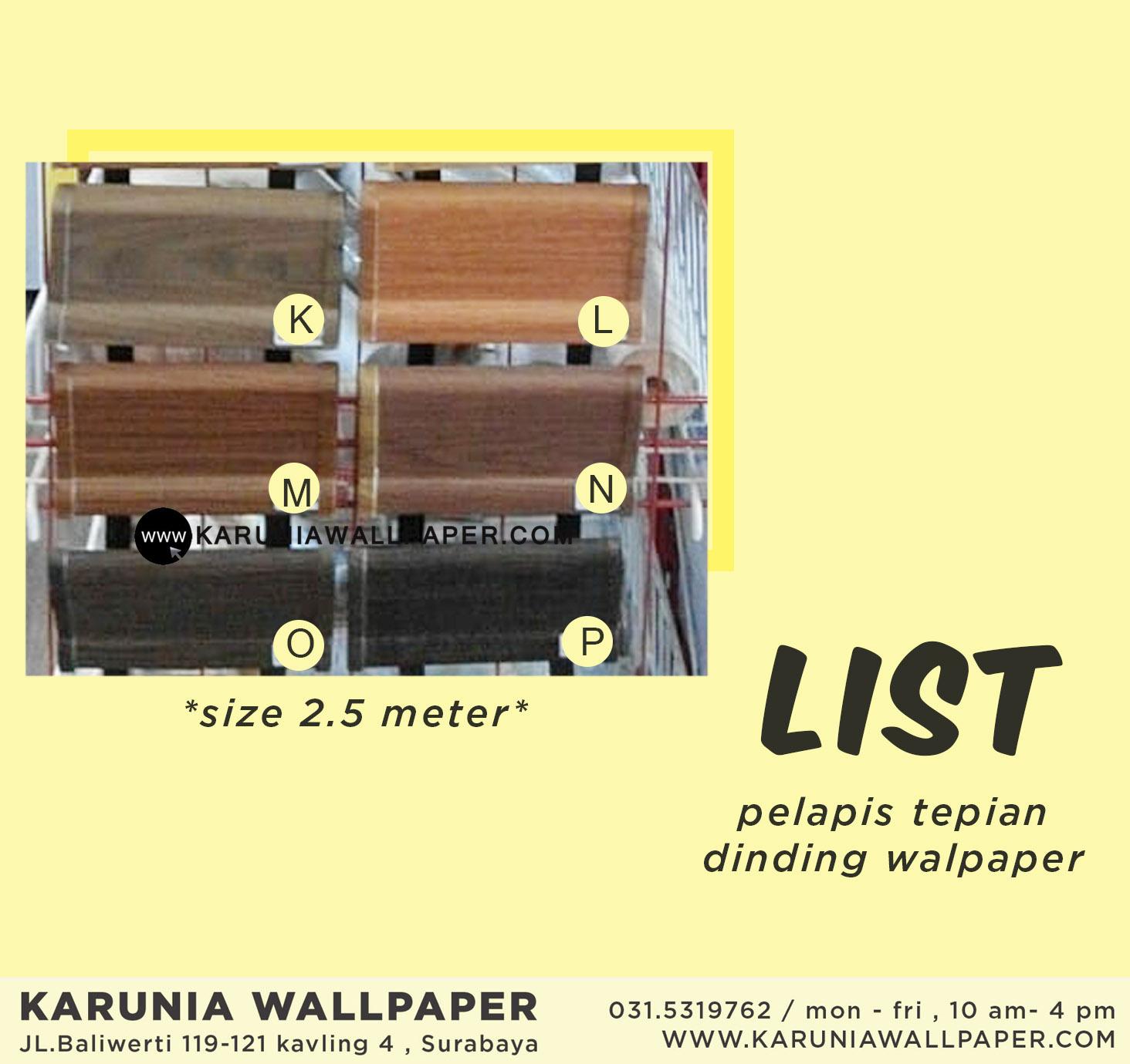 jual list kayu surabaya karuniawallpaper