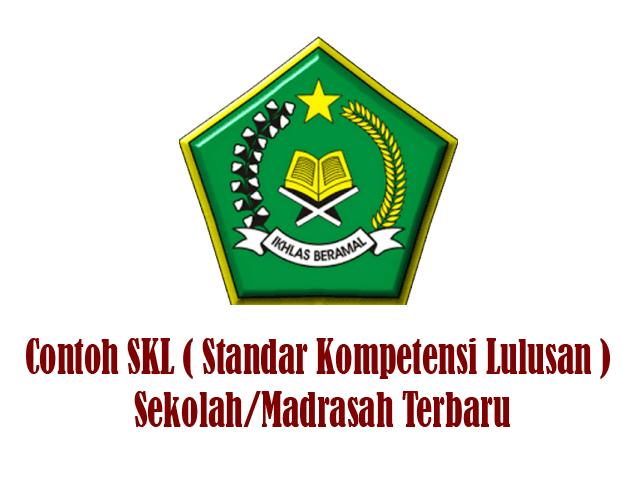Contoh SKL ( Standar Kompetensi Lulusan ) Sekolah/Madrasah Terbaru