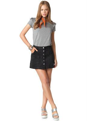 Moda feminino Blusa manga curta perfeita para um look romântico