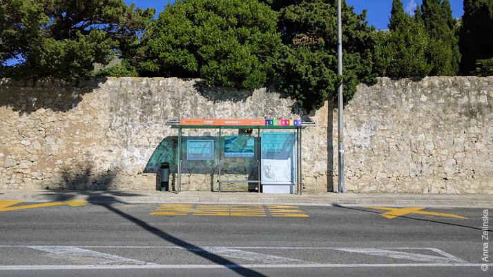 Остановка автобусов Libertas, Дубровник