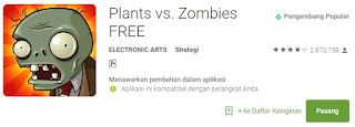 Planet vs Zombies Game Android Terbaik