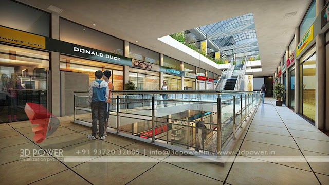 shop-interior-3d architectural rendering