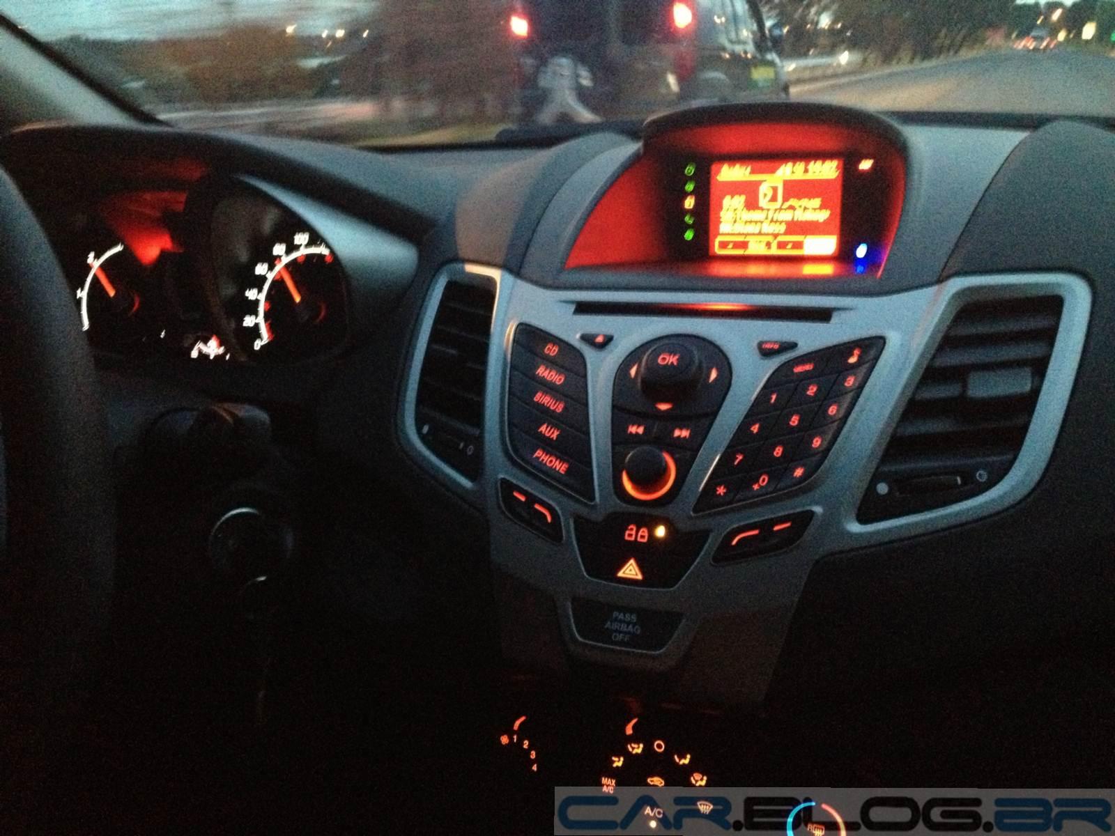 New Fiesta Sedan 2012 Fotos Pre 231 O E Consumo Car Blog Br