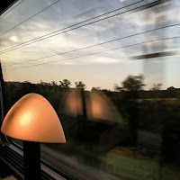 Train TGV avec l'Huawei p9
