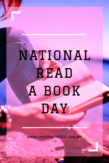September 6th is National Read a Book Day - what book are you delving into to celebrate?