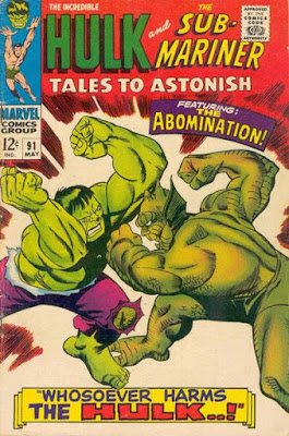 Tales to Astonish #91, Hulk vs Abomination