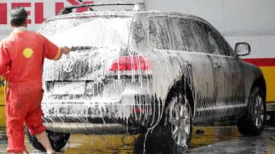 Bisnis Cuci Kendaraan Kinclong