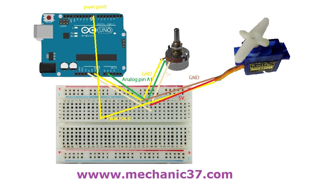 SERVO%2Band%2Bpotentiometer  Wire Potentiometer Schematic on 3 wire rtd schematic, 3 wire push button schematic, 3 wire strain gauge schematic, 3 wire switch schematic, 3 wire control schematic, 3 wire solenoid schematic,