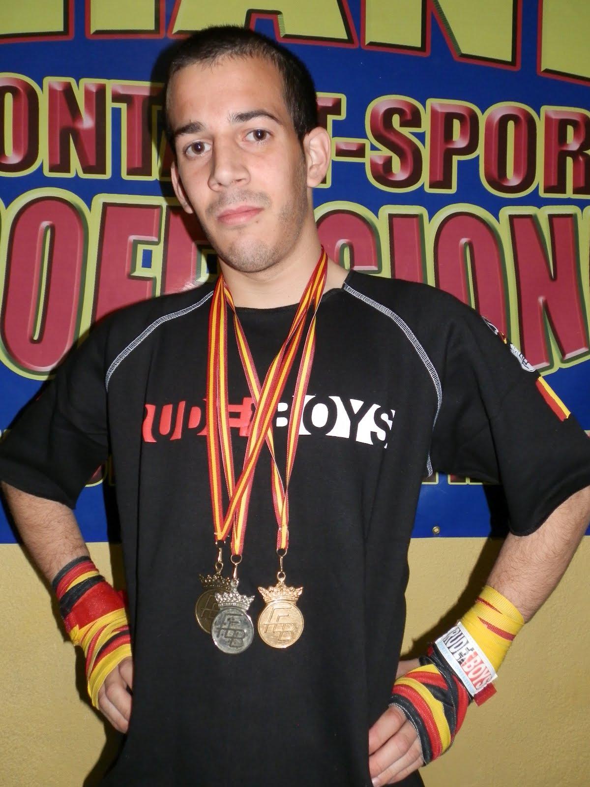 club boxeo y artes m frank aitor mateo cerd medalla de