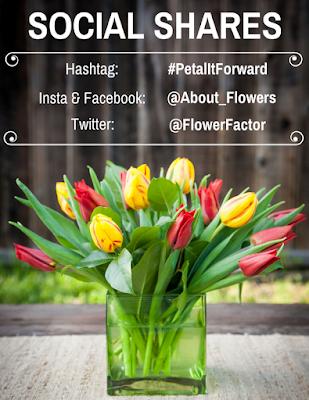 Social Shares Petal it Forward Sun Valley Floral Farm