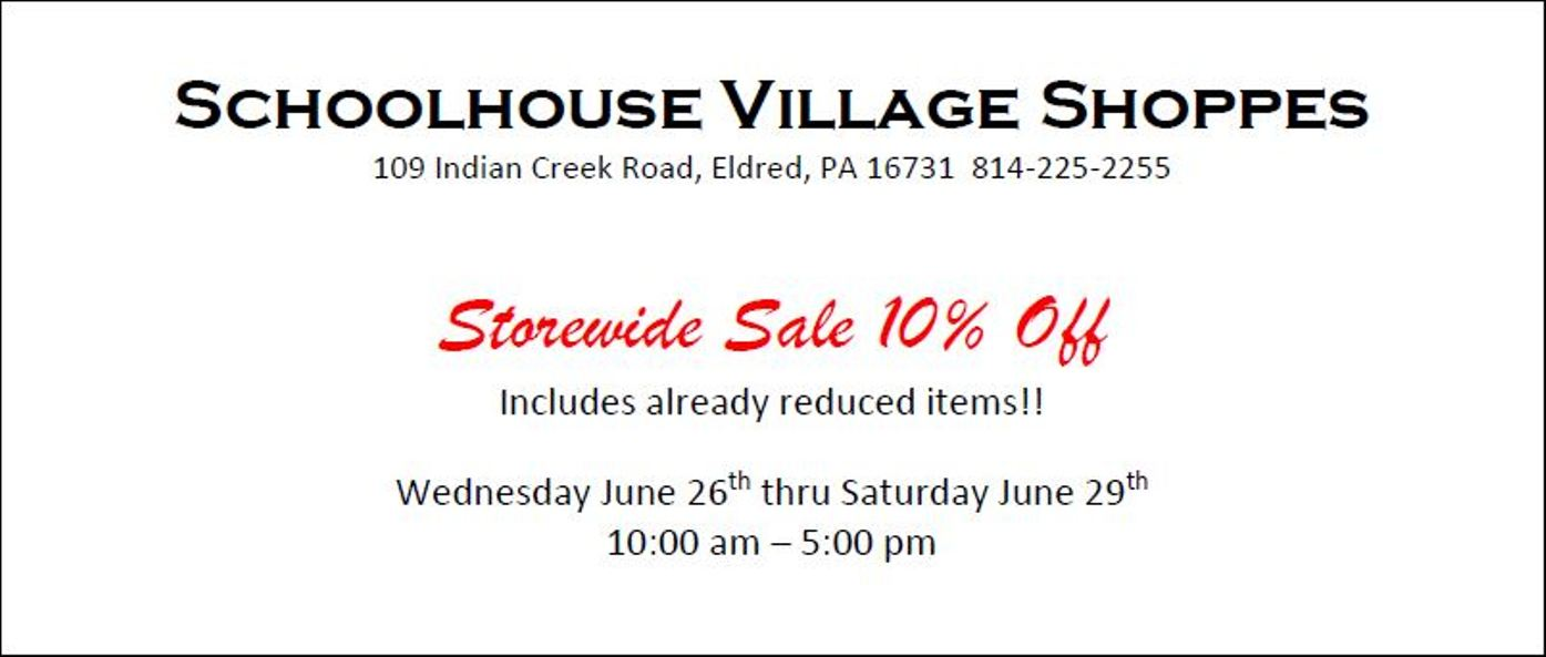Schoolhouse Village Shoppes