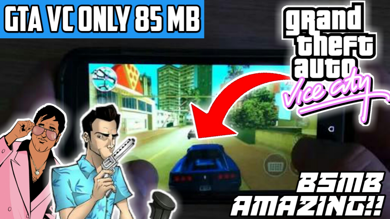 GTA VICE CITY ONLY 80MB 😨 - TECHNO STAR SAURABH