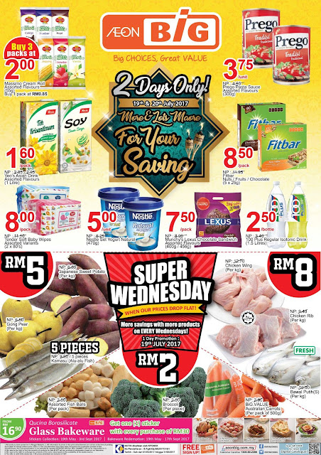 AEON BiG Malaysia Catalogue Weekday Discount Offer Promo