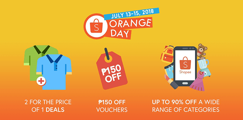 Shopee holds July Orange Day campaign
