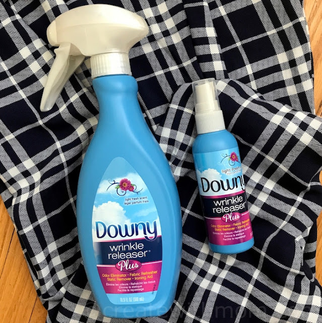 downy wrinkle releaser back to school