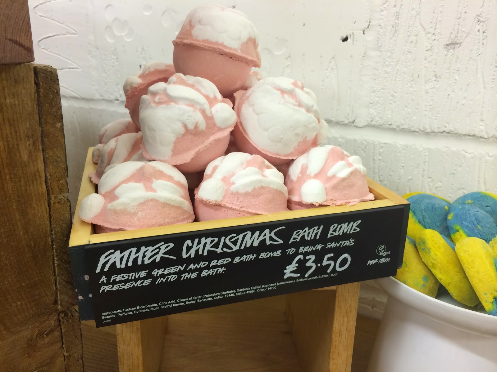 Father Christmas Bath Bomb by Lush Cosmetics