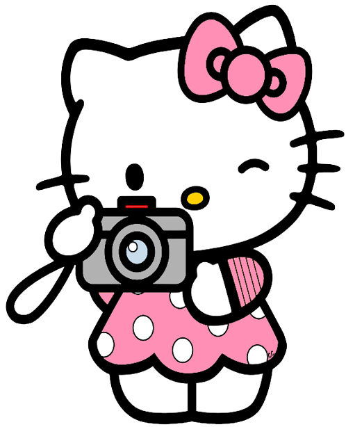 Sweet Hello Kitty Clip Art. - Oh My Fiesta! in english