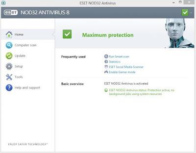 ESET NOD32 Antivirus 8 with Lifetime Activator