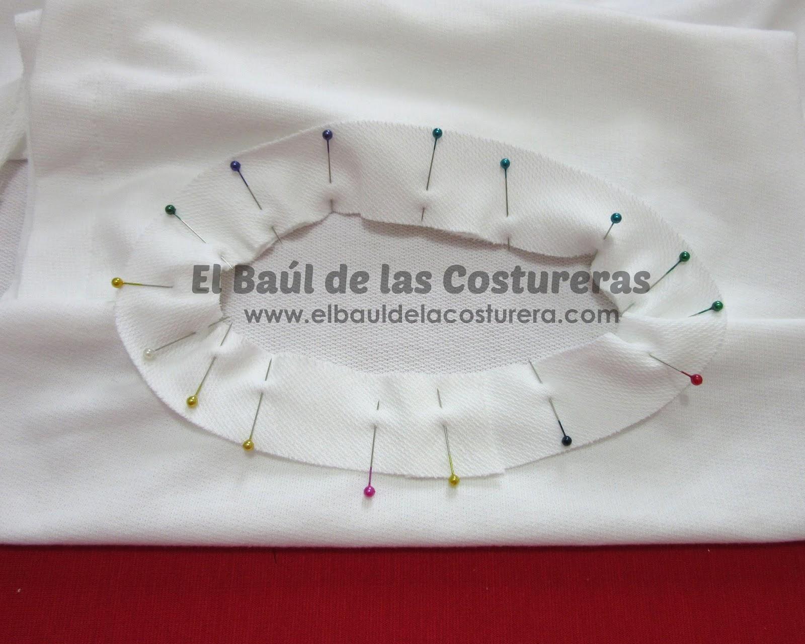 como hacer un escote ribeteado baul costureras