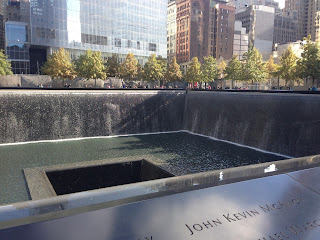 vacation to go to 9/11 memorial new york city