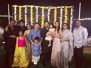 All Mega Heroes In One Frame On Diwali Celebrationgs. See Pics!