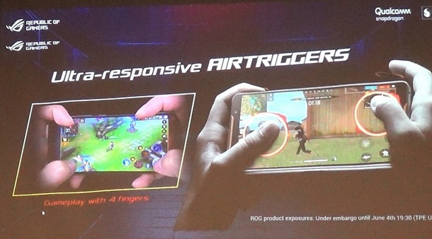ASUS ROG Phone AirTriggers