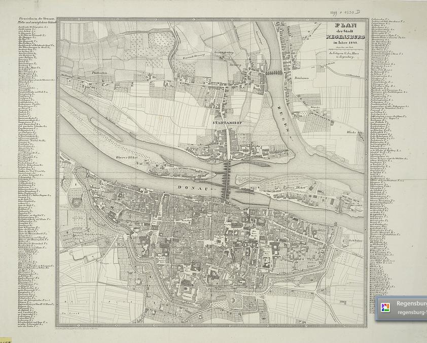 Stadtplan Regensburg Pdf