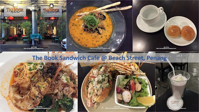 The Book Sandwich Cafe, Beach Street, Penang