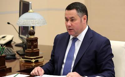 Tver Region Governor Igor Rudenya.