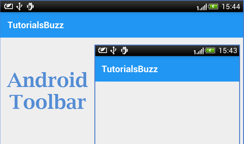 TutorialsBuzz: Android Material Design TabLayout With Icon